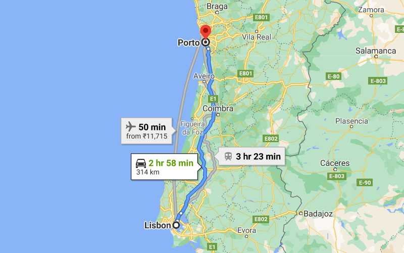 How to Get From Lisbon to Porto